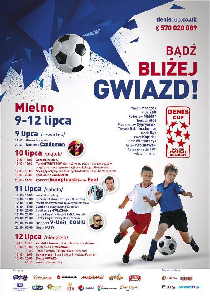 DENIS CUP Z GWIAZDAMI - HARMONOGRAM